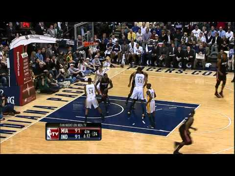 SPECTACULAR: LeBron James Throws the Ball off the ...