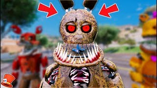 BRAND NEW TWISTED SPRINGTRAP! (GTA 5 Mods For Kids FNAF RedHatter)