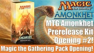 mtg amonkhet prerelease kit opening 2
