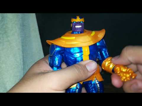 MARVEL LEGENDS THANOS Walmart Exclusive Tagalog Review
