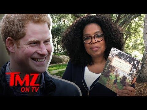 Prince Harry & Oprah Team Up for Mental Health Series on Apple TV | TMZ TV