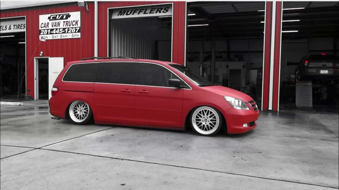 CVT Designs Honda Odyssey Bagged And Slammed