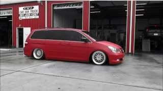 CVT Designs Honda Odyssey Bagged and slammed