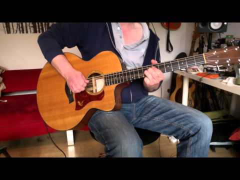 """How to play """"Alive"""" by Pearl Jam on acoustic guitar with Eddie's vocal track"""