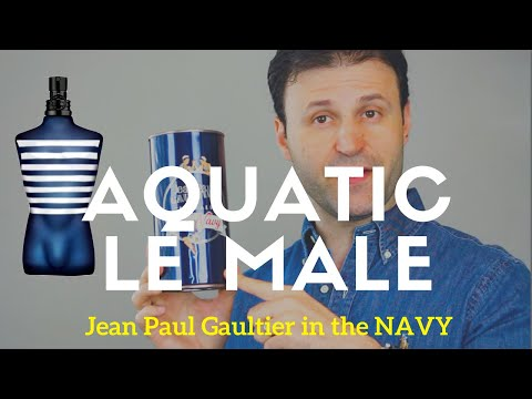 Jean Paul Gaultier NEW Le Male in the NAVY REVIEW | Max Forti