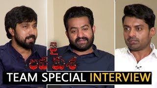 Jai Lava Kusa Movie Team Funny Interview   Raashi Khanna, Nivetha Thomas