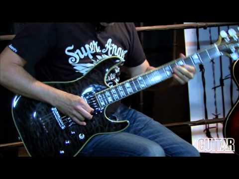 schecter c 1 custom and solo 6 standard guitars youtube. Black Bedroom Furniture Sets. Home Design Ideas