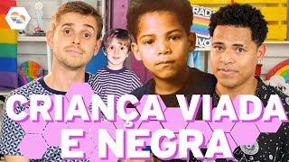 Negro e gay na infância - Papo de Beesha