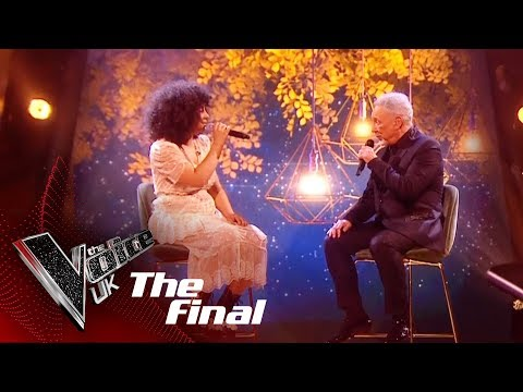 Ruti Olajugbagbe and Tom Jones Perform 'What A Wonderful World': The Final | The Voice UK 2018