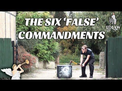 Bible Verses About False Gods Explained - Idols Worshipped on TV Violates The Ten Commandments
