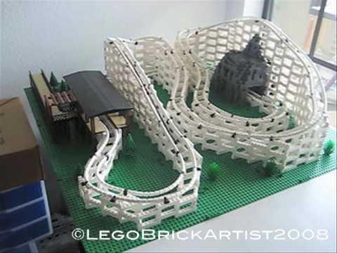LEGO Roller Coaster HQ - YouTube