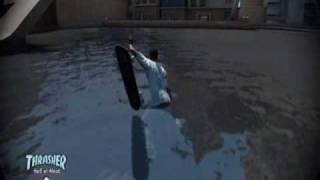 Skate 3: Underwater Glitch