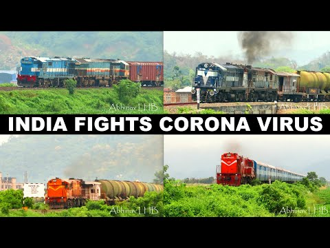 INDIA fights CORONA - 21 days LOCKDOWN | OLD SCHOOL Diesel Engines supplies Essential Commodities