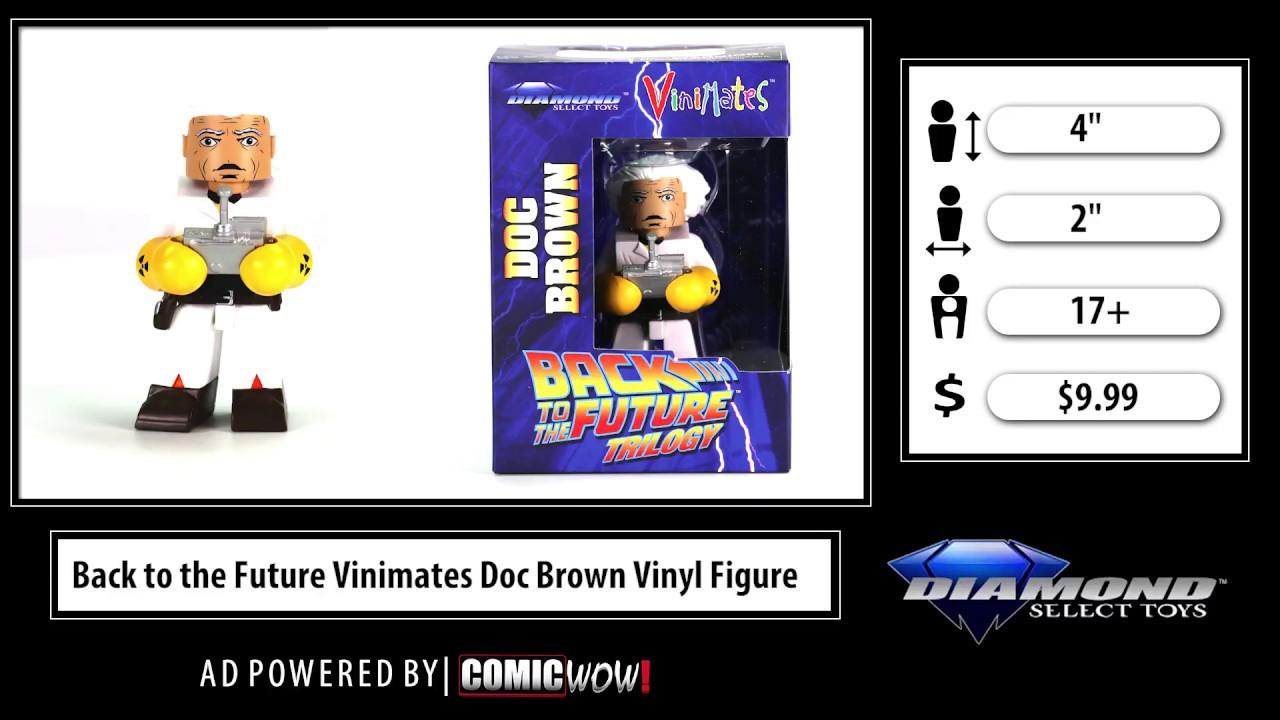 Vinimates Back to the Future Movie Doc Brown Vinyl Figure