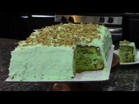 Pistachio Cake (BEST CAKE ON PLANET EARTH)