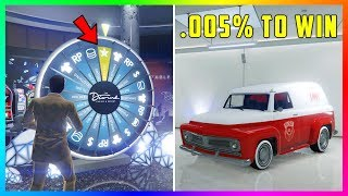 How To Get The RAREST Vehicle In GTA 5 Online WITHOUT Spinning The Lucky Wheel! (The Diamond Casino)