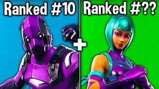 RANKING EVERY EXCLUSIVE SKIN FROM WORST TO BEST! (Fortnite Battle Royale)