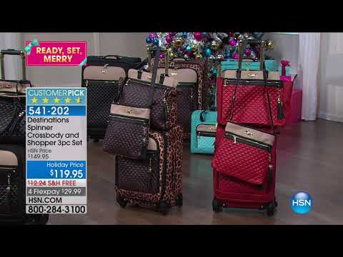 HSN | Holiday Travel Necessities 10.05.2017 - 02 AM