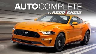 AutoComplete: Ford unveils the 2018 Mustang