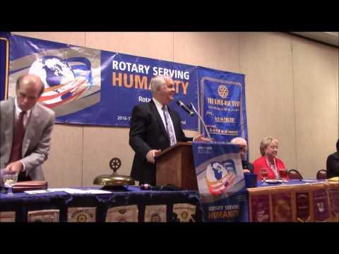 Columbia Rotary September 12, 2016
