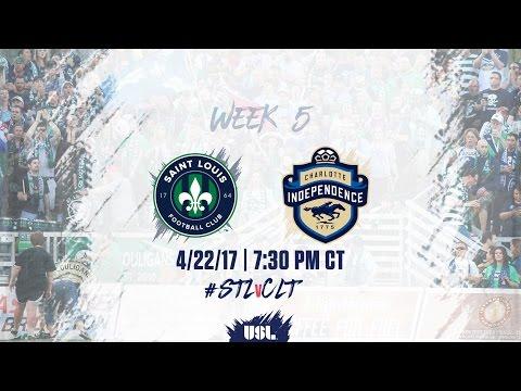 USL LIVE - Saint Louis FC vs Charlotte Independence 4/22/17