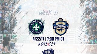 USL LIVE - Saint Louis FC vs Charlotte Independence 4/22/17
