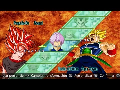 Todos los Personajes de Dragon Ball Z Shin Budokai 2+ DESCARGA (DB AF Sshin  Budokai)