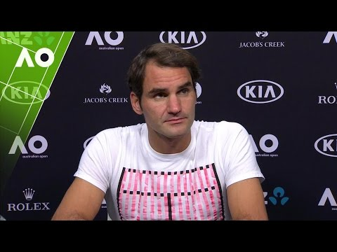 Roger Federer press conference (SF) | Australian Open 2017