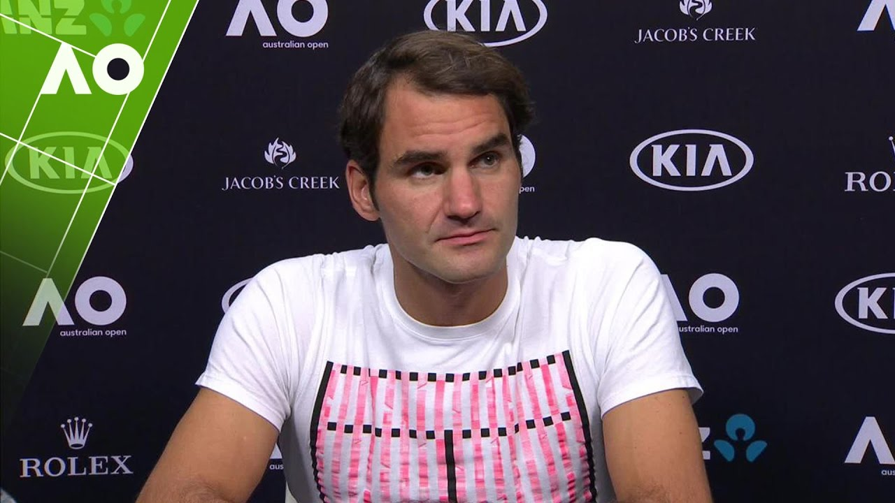Roger Federer press conference (SF) | Australian Open 2017