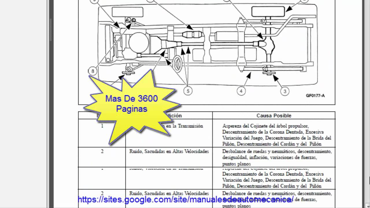 Manual De Reparacion Ford Explorer 1999 2001 98 Engine Diagram Montainer