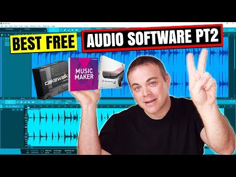 Best Free Audio Recording Software for Windows 10 Part 2