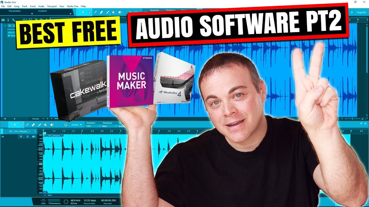 Part 2 – Best Free Audio Recording Software for Windows 10