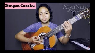 Download Lagu Chord Gampang (Dengan Caraku (feat Arsy Widianto) - Brisia Jodie) by Arya Nara (Tutorial) Mp3