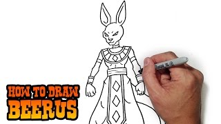 How to Draw Beerus- God of Destruction