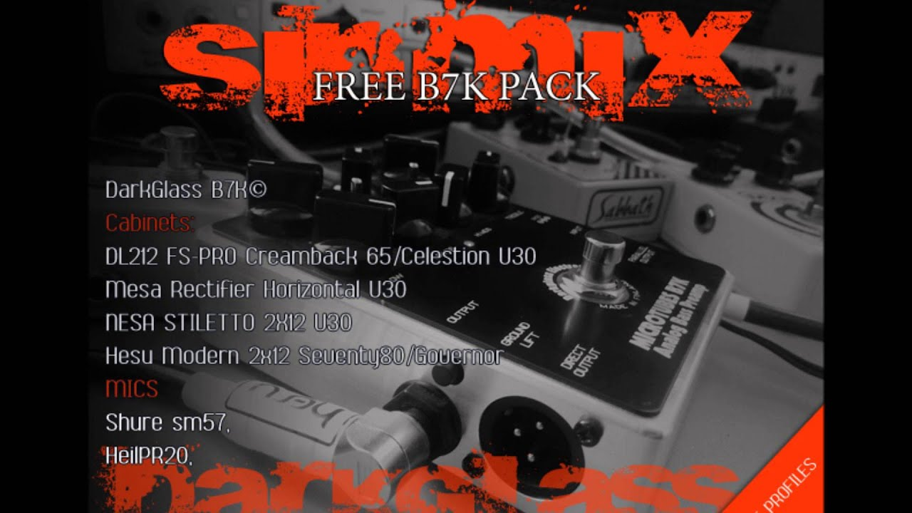 SinMix I Reamping I Mixing I Mastering I Kemper Profiles
