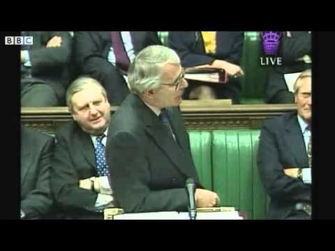 """Tony Blair vs. John Major -  """"Weak, weak, weak!"""""""