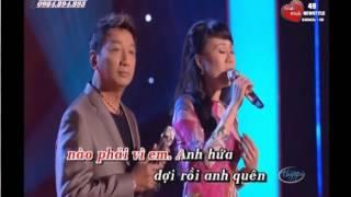 Hai Dua Gian Nhau { karaoke } Moi Nu Feat