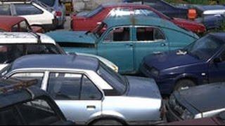 Брошенные в Москве автомобили принудительно утилизируют