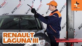 Montavimo Rėmas, stabilizatoriaus tvirtinimas RENAULT LAGUNA III Grandtour (KT0/1): nemokamas video