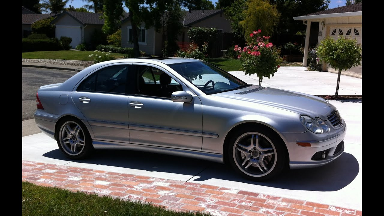 Mercedes benz c55 amg v8 cold and warm startup no for Mercedes benz c55 amg