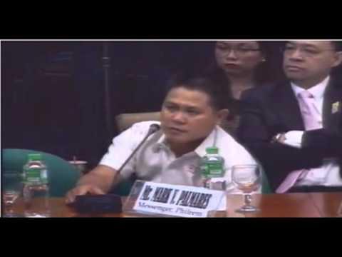 Philippine Senate Hearing on Money laundering - Day 6