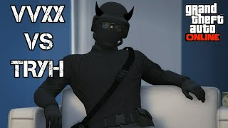 VVXX Vs TRYH CvC Trash Talker Crew Gets Smacked (GTA ONLINE)
