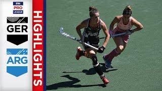 Germany v Argentina | Bronze Medal | Women's FIH Pro League Highlights