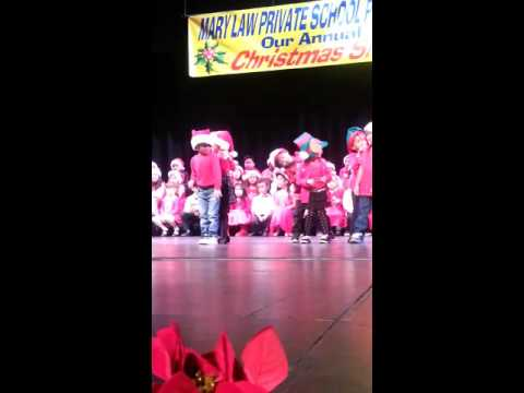 Mary Law Private School Christmas Program 2015