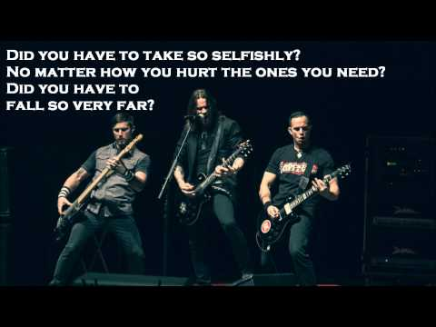 Lover by Alter Bridge with Lyrics