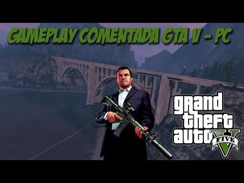 GTA V  PC - Gameplay Core 2 Quad Q8200 4GB DDR2 GTX 750 2GB GDDR5