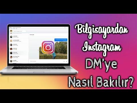 #2. BILGISAYARDA INSTAGRAM DM YE NASIL BAKILIR (DM KULLANMA) ÇOK KOLAY 2019