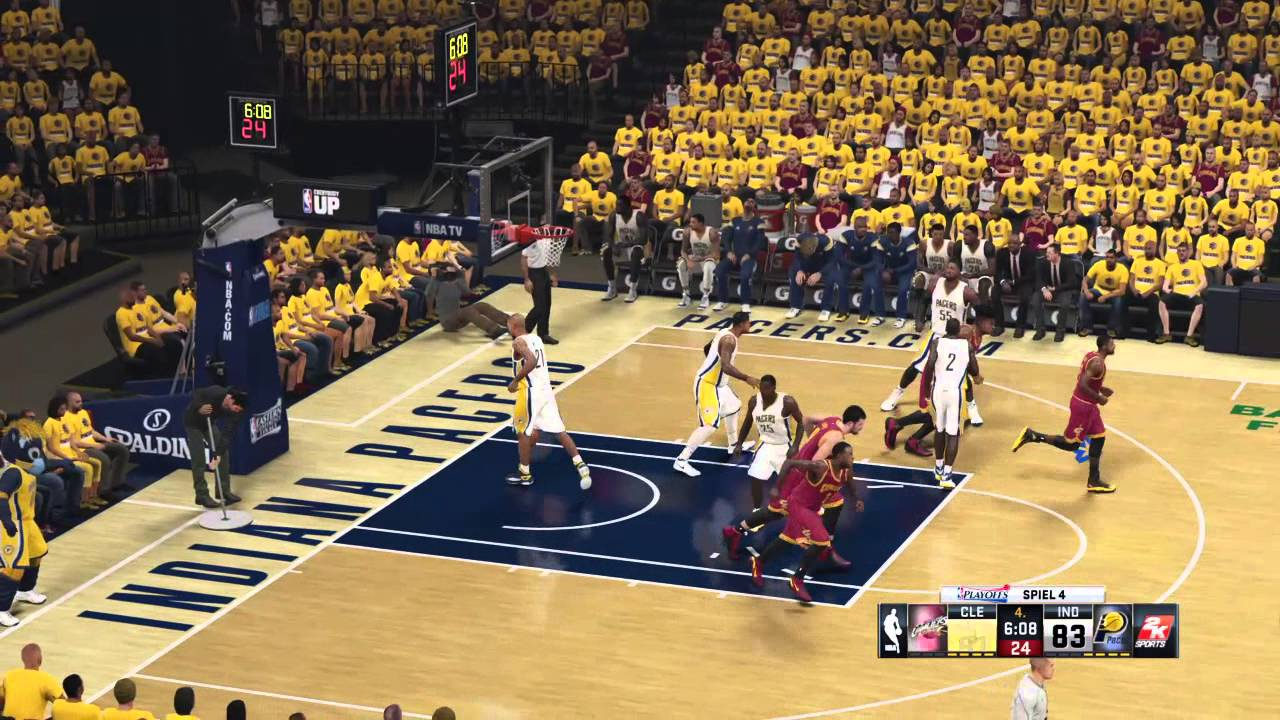 cc038652b01 NBA PLAYOFFS PS4 - NBA Eastern Conference Finals 2016  Indiana Pacers    Cleveland Cavaliers
