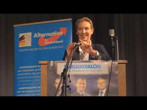 Dr. Alice Weidel beim Bürgerdialog »Perspektiven für unser Land« vom 04.09.2020 in Mannheim