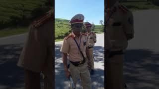 Công an Cẩm Khê lập chốt đường 70b thuộc huyện yên lập